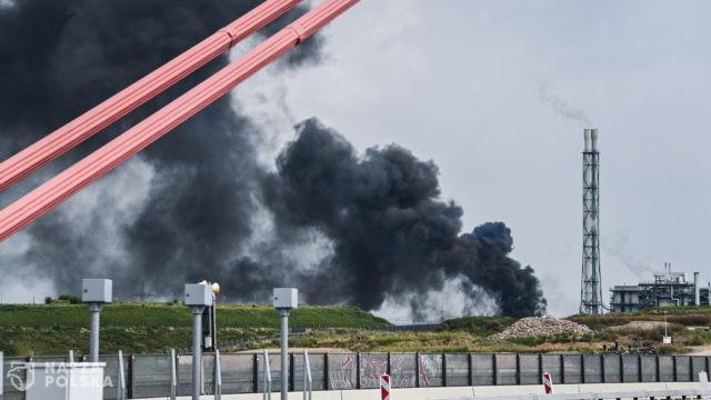 """Eksplozja w Leverkusen, """"nad miastem widać czarną chmurę"""""""