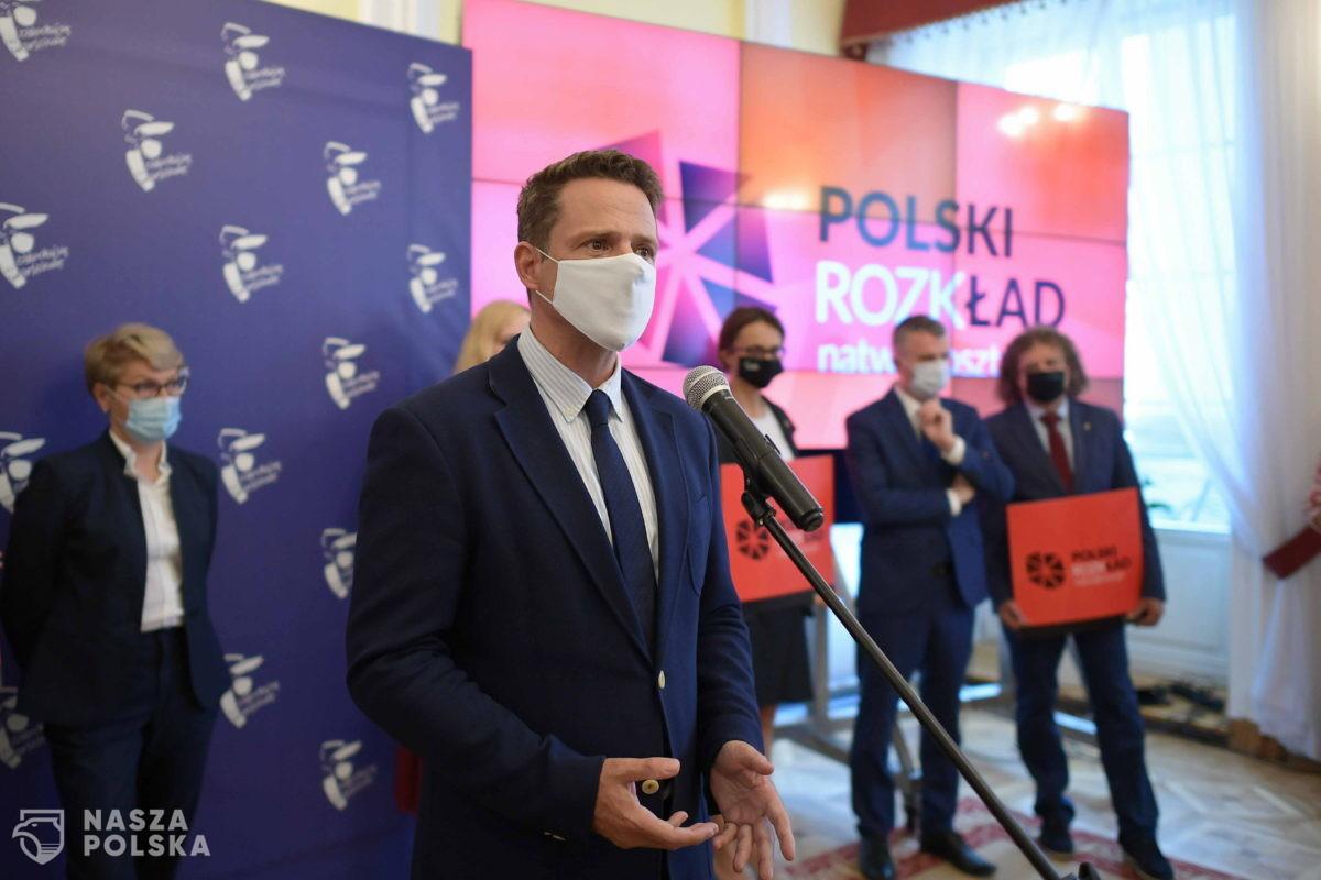 """Trzaskowski: tak zwany """"Polski Ład"""" to jedno wielkie oszustwo"""