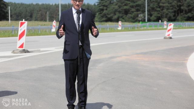 Premier: Każdy kilometr nowej drogi to możliwości przyciągania przedsiębiorców i rozwoju regionu
