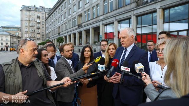 Gowin: Moja dzisiejsza dymisja jest de facto zerwaniem koalicji rządowej i końcem Zjednoczonej Prawicy