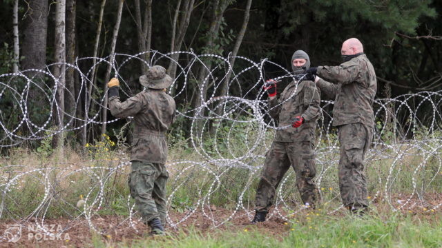 Projekt ustawy o budowie zabezpieczenia granicy państwowej wpłynął do Sejmu