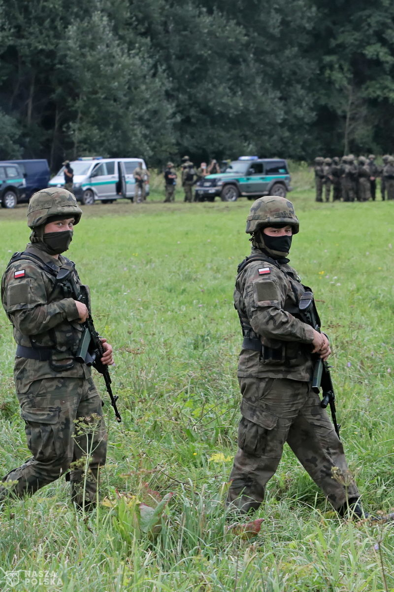 W sobotę ponad 500 prób nielegalnego przekroczenia granicy polsko-białoruskiej