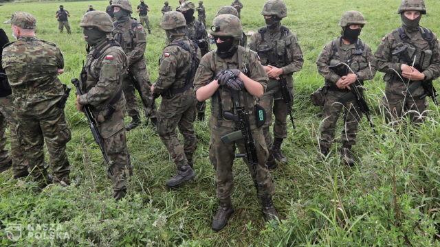 Straż Graniczna: kolejne strzały przy granicy Polski z Białorusią