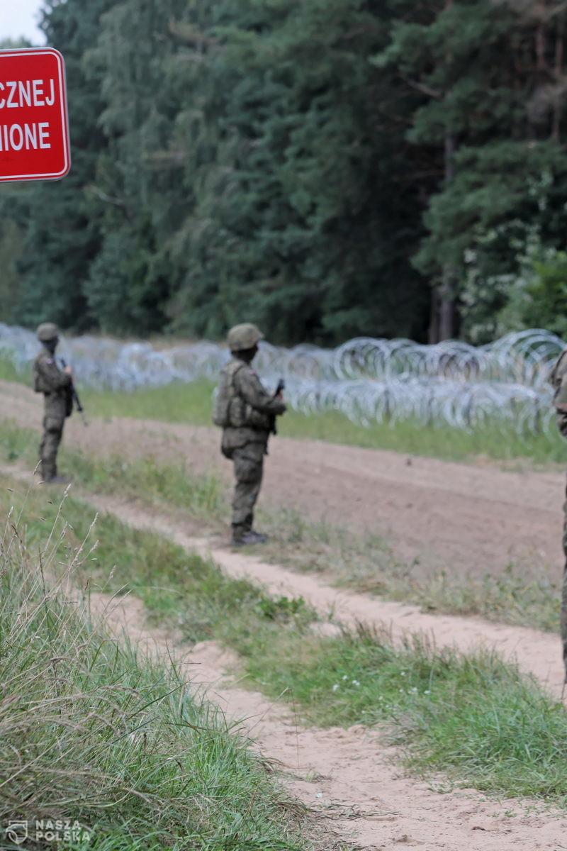 SG: ostatniej doby ponad 240 prób nielegalnego przekroczenia granicy polsko-białoruskiej