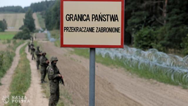 Usnarz Górny/ Nowe posiłki wojska i policji na granicy polsko-białoruskiej
