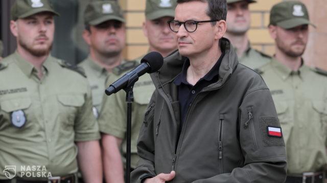 Premier: proszę opozycję, aby nie destabilizowała sytuacji na granicy polsko-białoruskiej