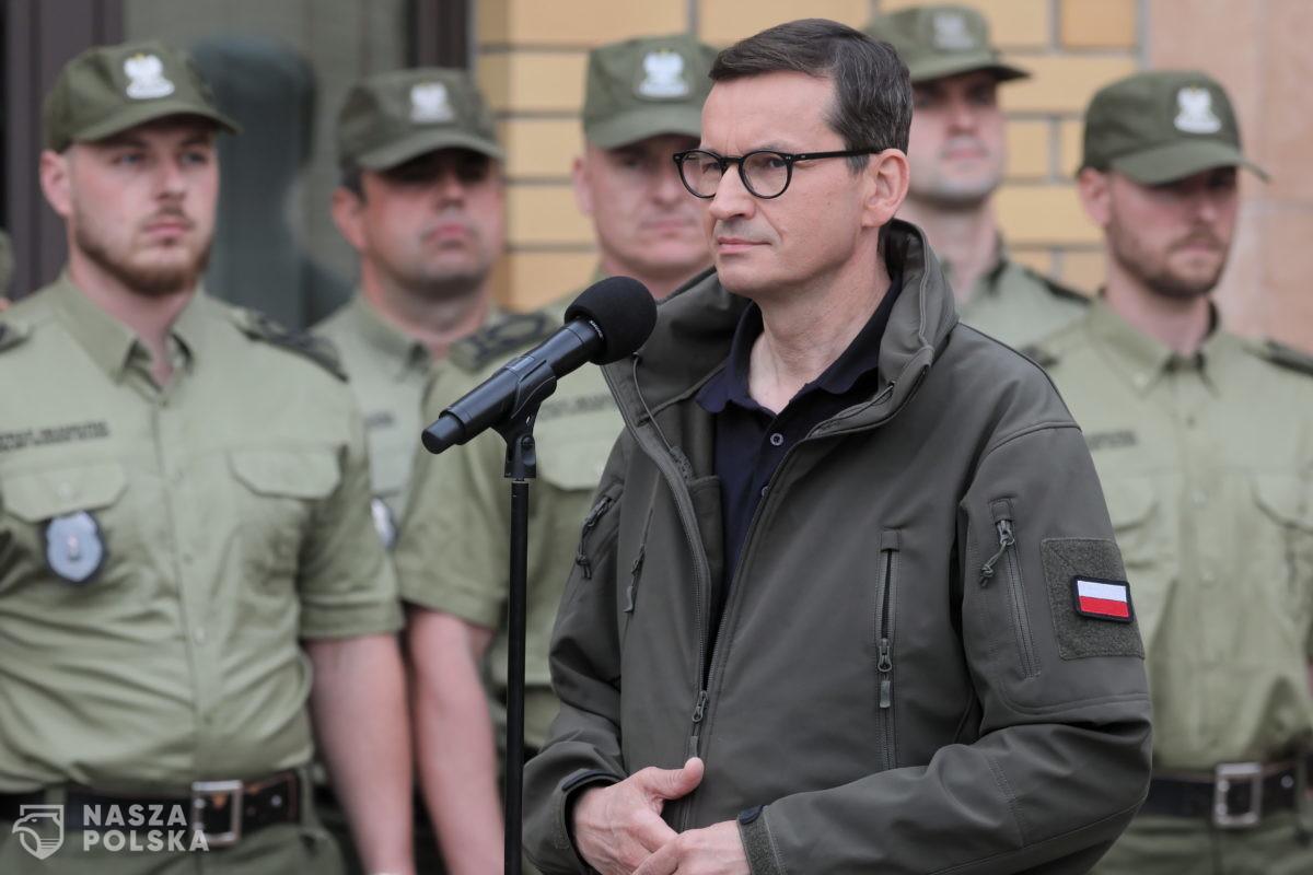 Premier: polskiej granicy będziemy bronili z całą determinacją