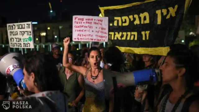 Izrael/ Protesty przeciwko restrykcjom