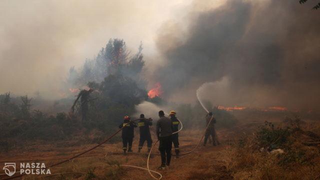 Polscy strażacy wyruszyli z pomocą do Grecji