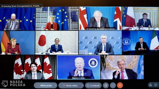 Brytyjska prasa: szczyt G7 dalszym upokorzeniem Zachodu w Afganistanie