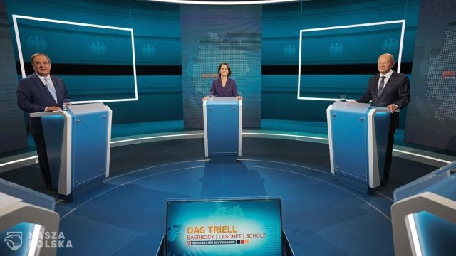 Niemcy / Debata kandydatów na kanclerza