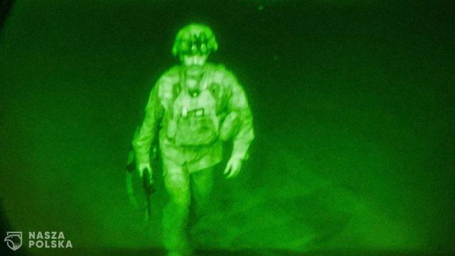 Ostatni amerykański żołnierz opuszcza Afganistan