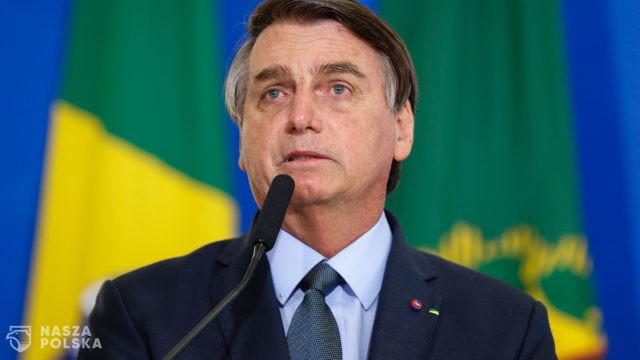 Brazylia/ Prezydent oświadczył, że się nie zaszczepi, żeby wziąć udział w posiedzeniu ONZ