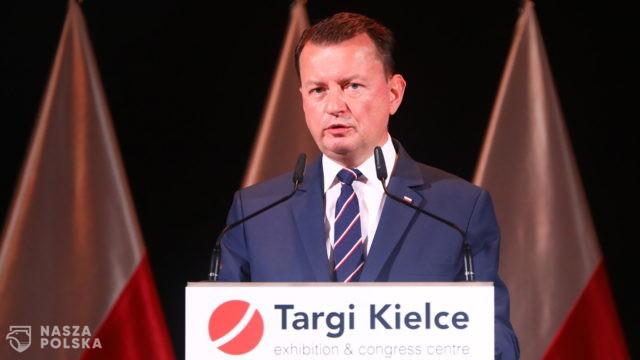 Błaszczak: Polska została poddana atakowi hybrydowemu