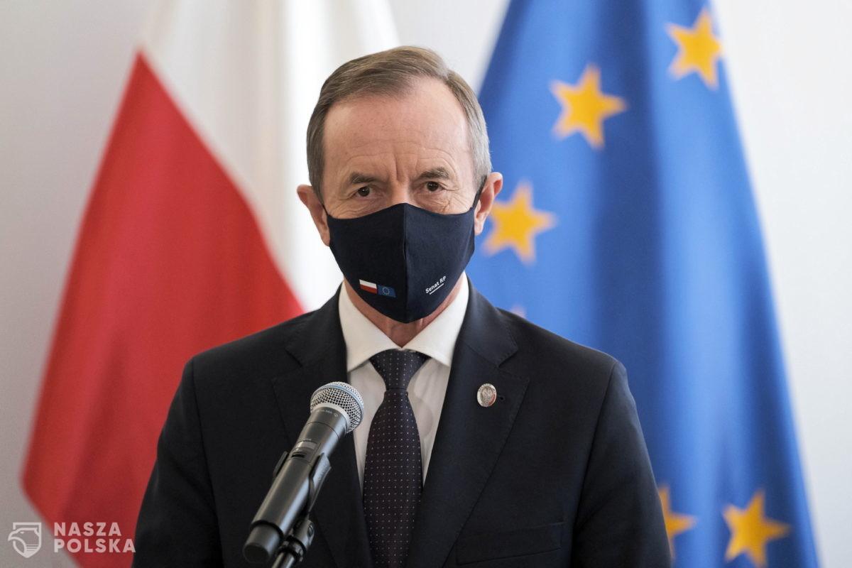 Senat nie zajmie się wnioskiem prokuratury o uchylenie immunitetu marszałka Grodzkiego
