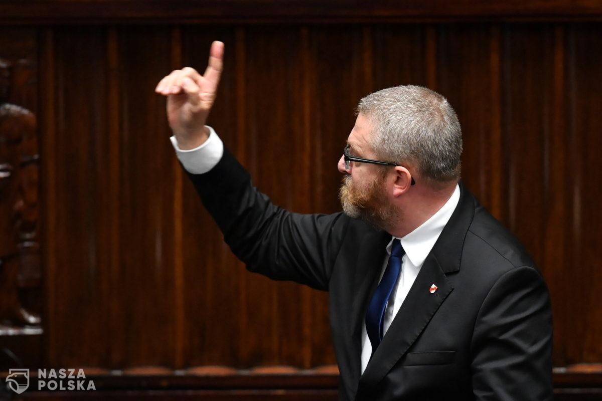 Marszałek Sejmu składa zawiadomienie do prokuratury dotyczące wypowiedzi posła Brauna