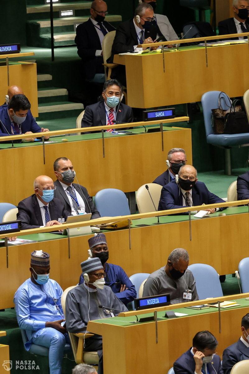 ONZ/ Zbigniew Rau spotkał się z szefem rosyjskiej dyplomacji Siergiejem Ławrowem
