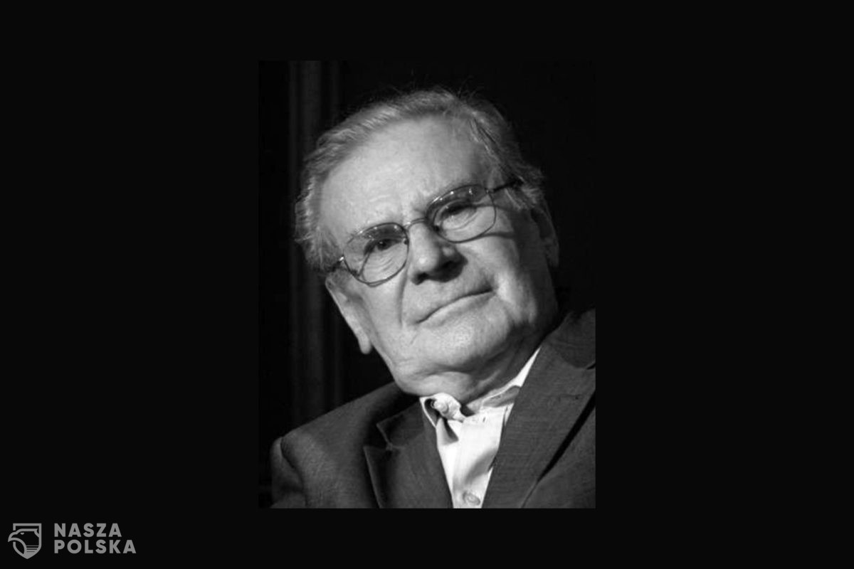 Dzisiaj rano zmarł Wiesław Gołas