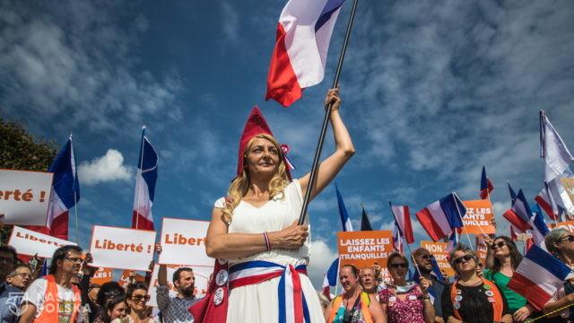 Francja/ Demonstracje przeciw paszportom sanitarnym; doszło do starć z policją