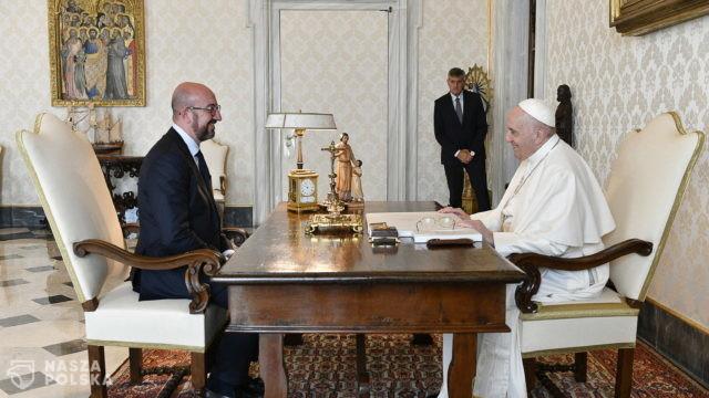 Watykan/ Papież rozmawiał z przewodniczącym RE o uchodźcach z Afganistanu