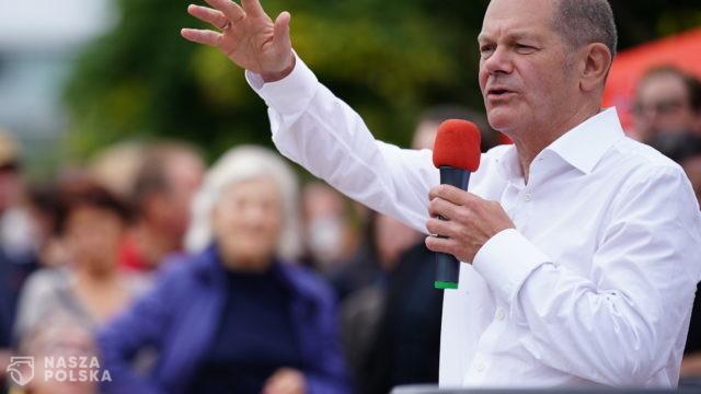 Niemcy/ Kandydat SPD na kanclerza Olaf Scholz nieoczekiwanym faworytem wyborów