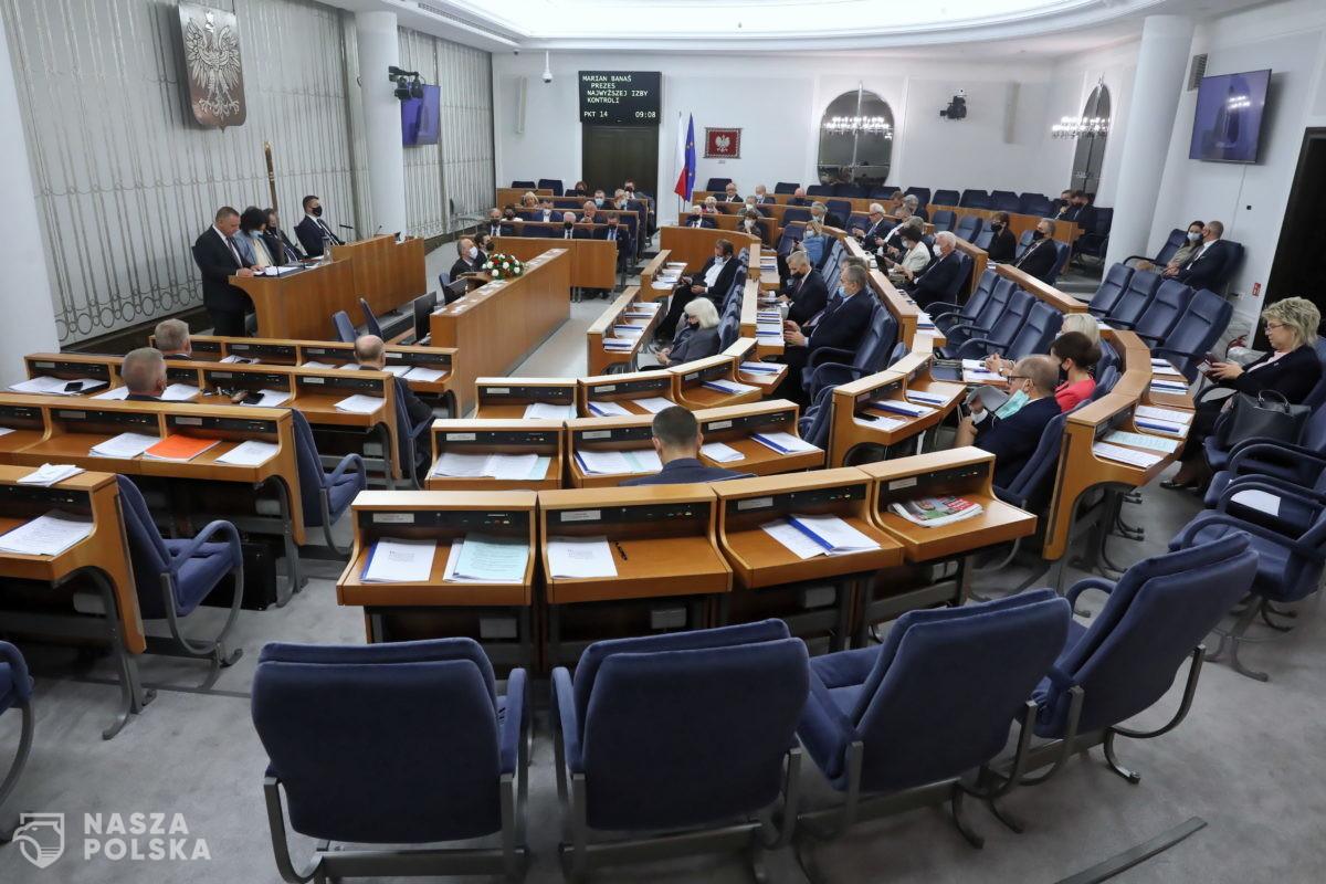 Senat/ KO chce odrzucenia ustawy o zabezpieczeniu granicy; PiS: to haniebne