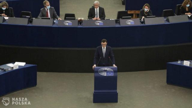Morawiecki: państwa członkowskie musza mieć narzędzia reakcji, jak instytucje UE przekraczają swoje kompetencje