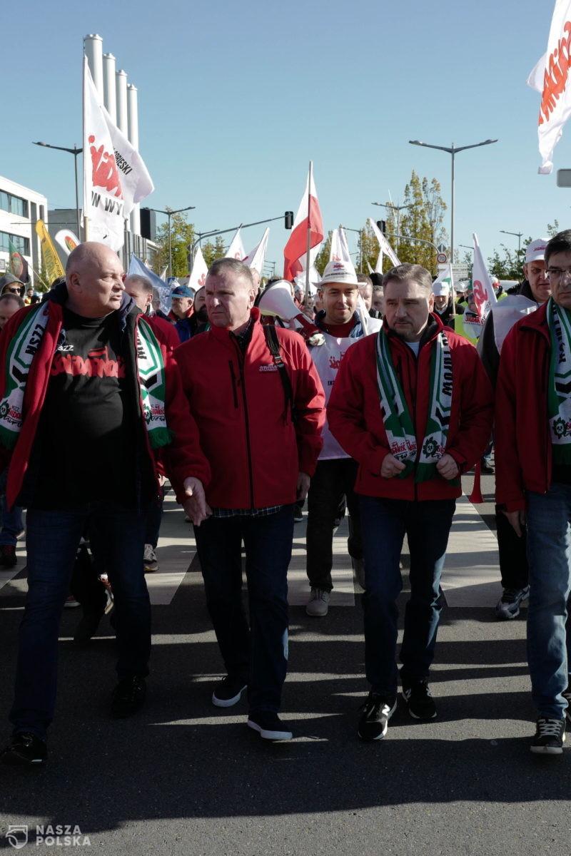 Związkowiec o manifestacji w Luksemburgu: TSUE pokazało żenujący spektakl