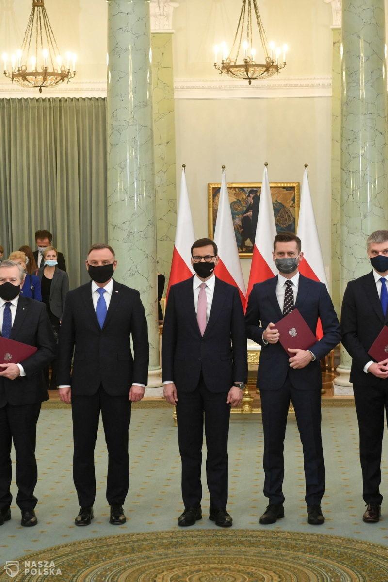 Prezydent dokonał zmian w składzie rządu