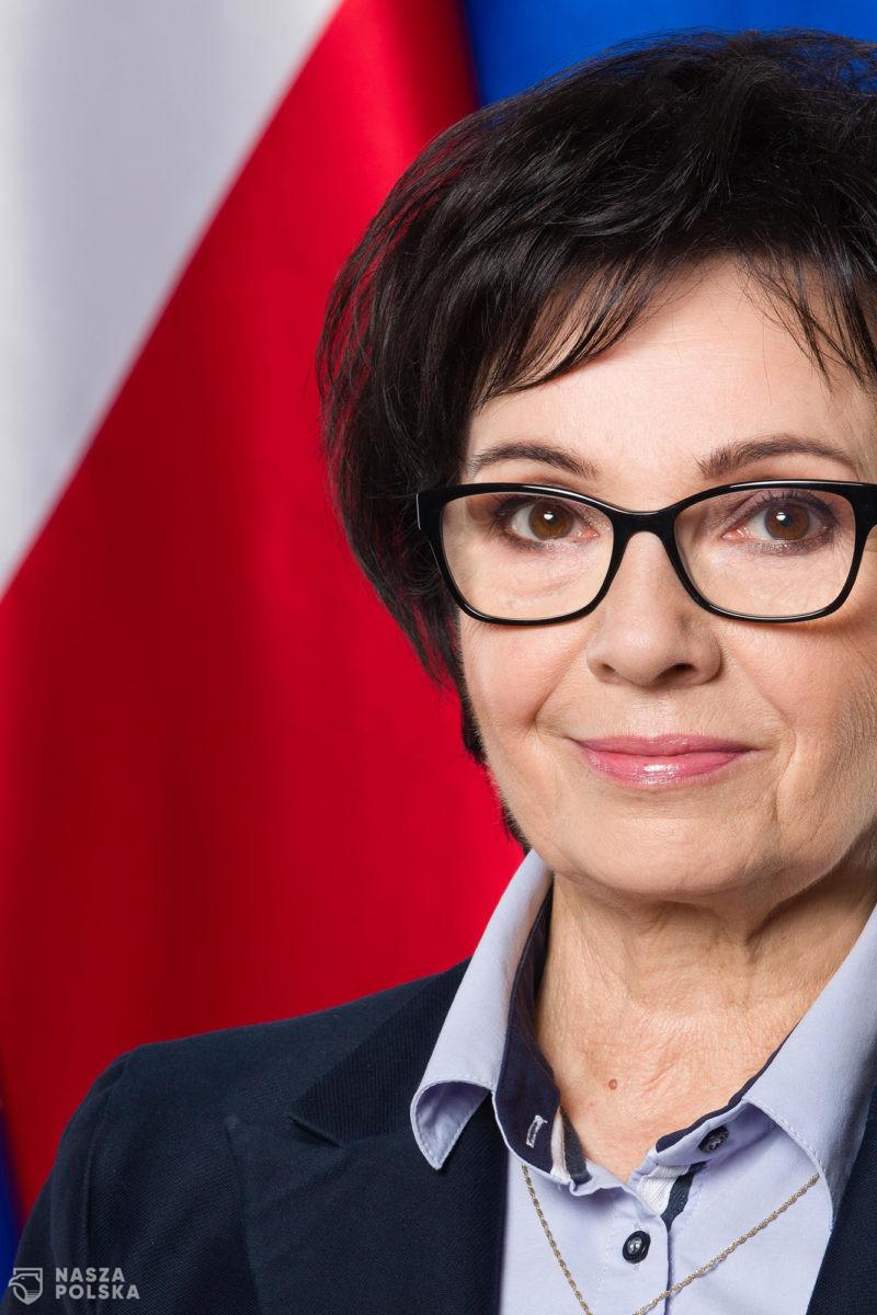 Elżbieta Witek opuściła salę podczas wystąpienia szefowej rosyjskiej Rady Federacji nt. demokracji
