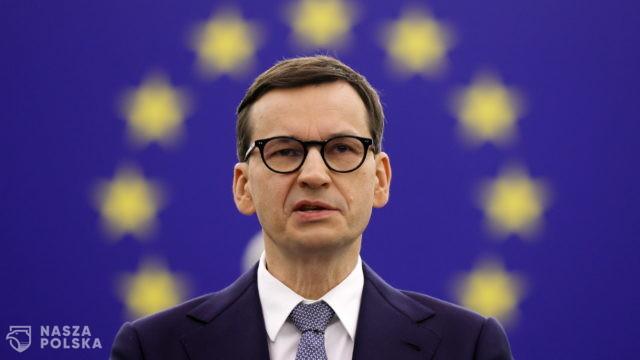 Premier: zrobię wszystko, by Polacy nie odczuli negatywnych skutków wniosków europosłów PO o zablokowanie unijnych środków