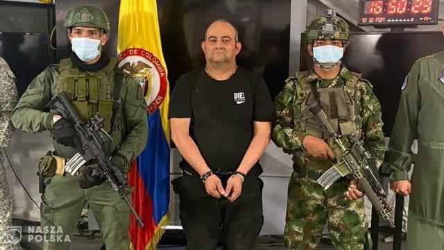 Aresztowano najpotężniejszego handlarza narkotyków w Kolumbii, największego na świecie eksportera kokainy