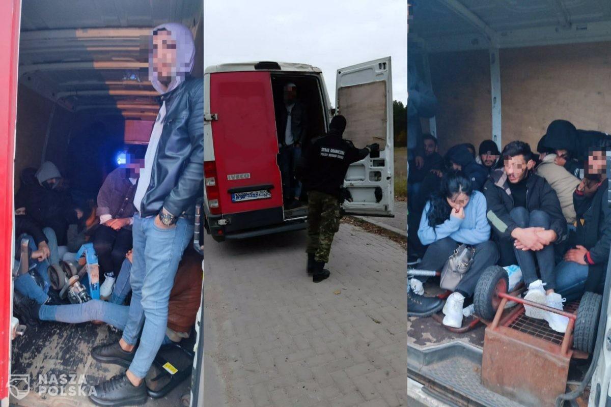 Obywatel Ukrainy wiózł 27 nielegalnych imigrantów z Iraku